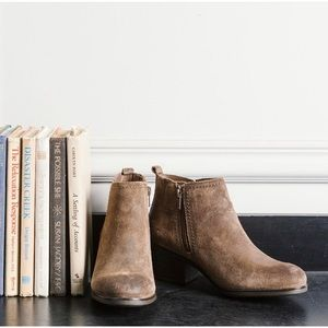 Rockport Brown Suede Ankle Boots Size 7.5 NWT